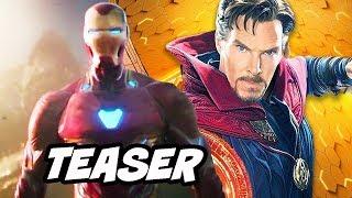 Video Avengers 4 Doctor Strange 2 Teaser Explained MP3, 3GP, MP4, WEBM, AVI, FLV Oktober 2018