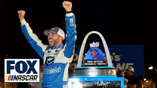 FINAL LAPS: Ross Chastain prevails on late restart to win at Gateway | NASCAR on FOX by FOX Sports