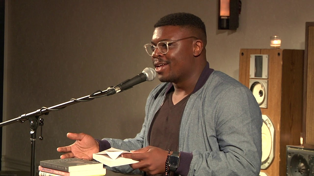 Bryan Washington reading from Lot | 2019 5 Under 35 Celebration
