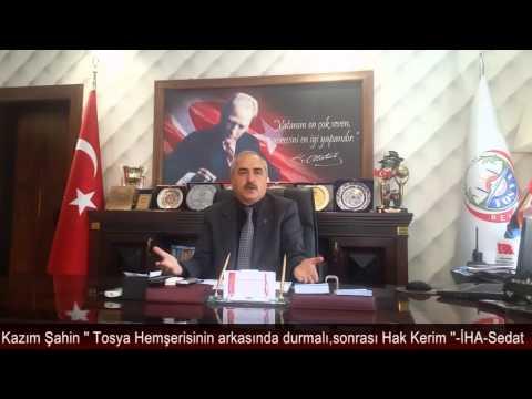 Kazım Şahin'in Basın Açıklaması