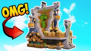 Minecraft: How To Build A Small Medieval House!! Rustic House Tutorial