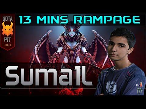 EG Sumail plays QoP [13 mins RAMPAGE vs Cloud9] Dota 2 [DotaPit Finals] #tbt ep.1