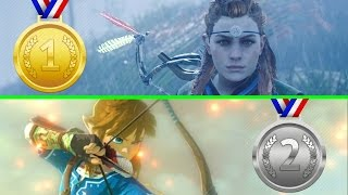 Horizon Zero Dawn Is Outselling The Legend Of Zelda: Breath Of The Wild On Amazon WorldwideLIKE THIS VIDEO & SUBSCRIBE