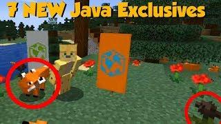 Minecraft 1.14 Village & Pillage Update - 7 Java EXCLUSIVES