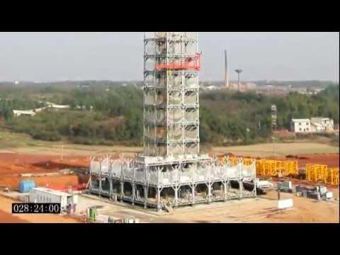 Construyen edificio en China en sólo 15 dias (видео)