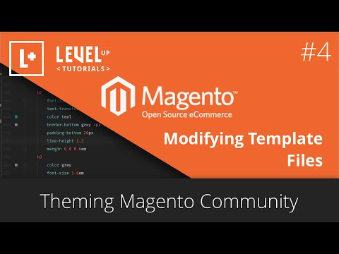 Magento Community Tutorials #28 – Theming Magento #4 – Modifying Template Files