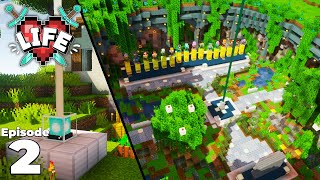 Exploring the X Life SMP server! Episode 2 : Minecraft Survival Let's Play