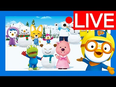 [Live] ★Pororo's Best Moments★ | Kids animation | Kids live | Nursery Rhymes