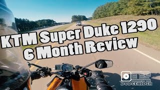 8. 6 Month Review - KTM Super Duke R 1290