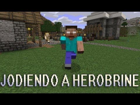 Minecraft | Jodiendo a Herobrine | Parte 1