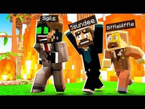 SOMEONE Set Camp MINECRAFT on FIRE! (Funny Moments)