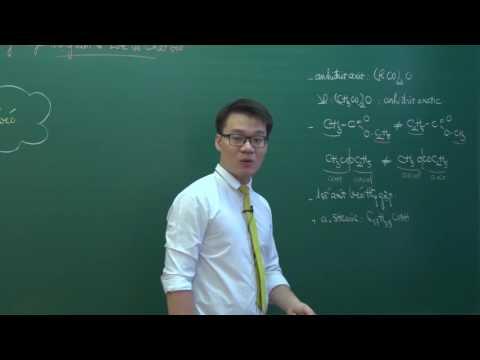 Bài giảng: [Phần 1] Một số lý thuyết trọng tâm về este và chất béo của thầy Vũ Khắc Ngọc
