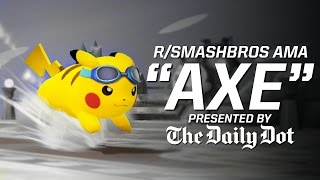 For anyone who didn't catch it, here is the recording of Axe's AMA hosted by Daily Dot.