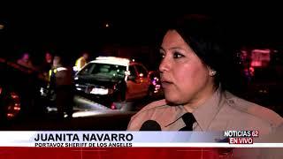 Sheriff de Duarte herido en accidente-Noticias 62 - Thumbnail