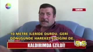 SAMSUN'DA BİR VATANDAŞ HAVA ALIRKEN ÖLÜYORDU!