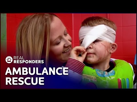 Ambulance Responds To Injured Young Boy | Temple Street Children's Hospital | Real Responders