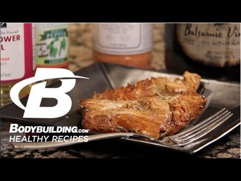 Healthy Recipes: Rosemary Balsamic Chicken