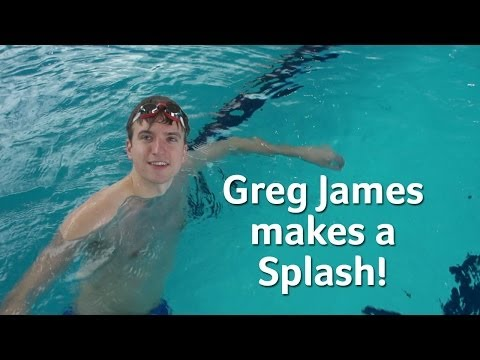 Greg James Makes A Splash | Clash of the Titans
