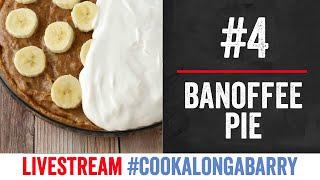 Banoffe Pie - Livestream 4 #cookalongabarry by  My Virgin Kitchen