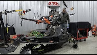 6. ARCTIC CAT SNOPRO 600 ENGINE AND CARBS - A CLOSER LOOK!