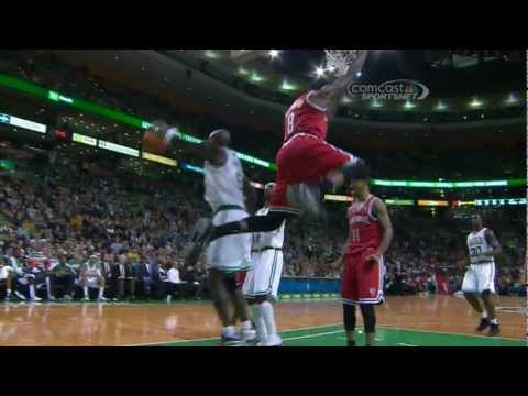 Larry Sanders Dunks On Celtics