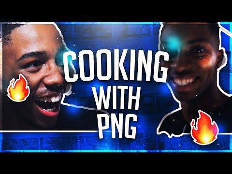HE THREW UP! Cooking With PNG Ep.1 Ft. Lil Jesus Christ
