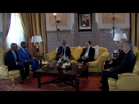 مراكش : الرئيس الرواندي بول كاغامي يحل بالمغرب