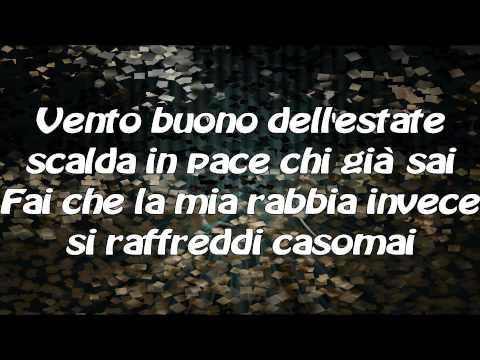 , title : 'Senza scappare mai più-Tiziano Ferro con testo'