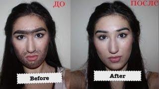 Как удалить волосы с лица? (эпиляция ниткой)