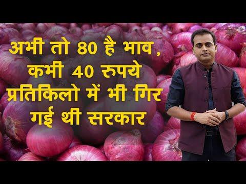 Onion Prices : जब प्याज की कीमतों ने आम आदमी के साथ ही सरकारों को भी रुलाया