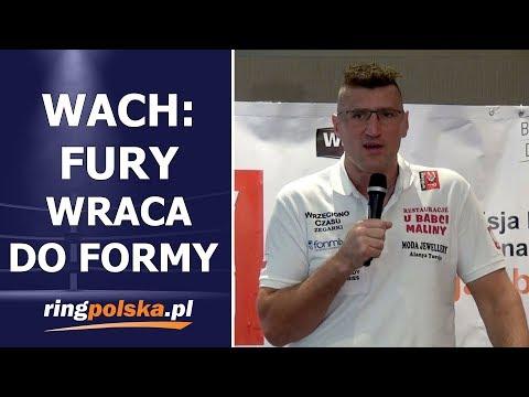 WACH PO SPARINGACH Z FURYM: TYSON WRACA DO FORMY