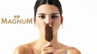 Magnum Double Ice Cream Commercial with Kendall JennerNo Copyright