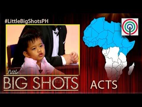 Little Big Shots Philippines: Klyde   Little Geography Expert