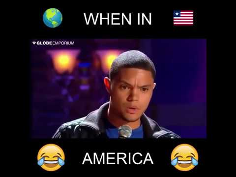 Comedian Trevor Noah decodes American English