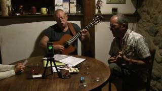 Janos and I , sat in on the Occitan music group, Fontanet, during a practice session. Occitan music encompasses a world of wonderfully boisterous sounds, som...