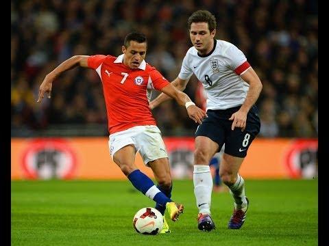 England 0 - 2 Chile