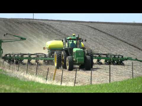 planting - Brian Smith and his son Justin plant corn on their family farm near Montrose, SD. Brian discusses the many benefits of no-till planting and the technology he...