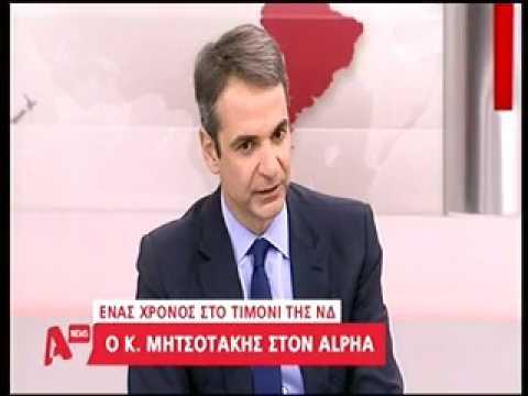 ALPHA – Μητσοτάκης