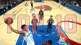 Top 10 Plays - The Starters by NBA