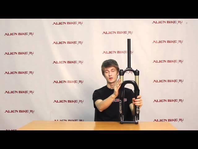Купить Вилка RST Space Jump - 100 мм - 20 мм  (2010) в веломагазине Alienbike