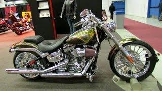 7. 2013 Harley-Davidson Softail CVO Breakout - Walkaround - 2013 Montreal Motorcycle Show