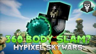 THE 360 ENDER PEARL BODY SLAM! ( Hypixel Skywars )