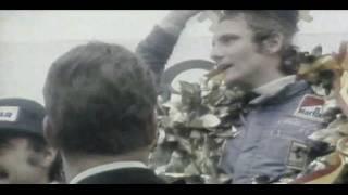 "Andreas Nikolaus ""Niki"" Lauda - Three Time F1 World Champion (1974-1977)"
