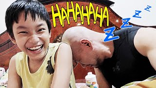 Video Prank Deddy Corbuzier by his own Son MEEEE MP3, 3GP, MP4, WEBM, AVI, FLV Juni 2018