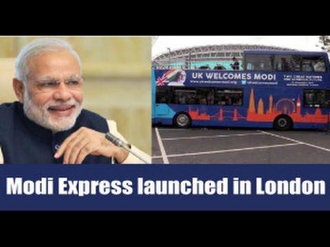 Modi Bus in London | UK Celebrates This Diwali