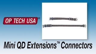 OP/TECH USA System Connectors - Mini QD Extensions