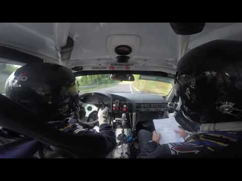 TőzsérÁron - Gecs Máté - Salgó Rally 2016 Crash