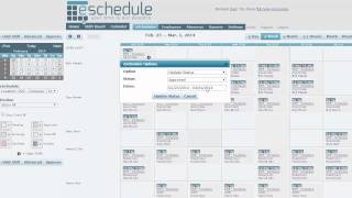 ESchedule Tutorial - Introduction For Scheduling Managers