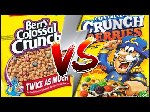 GENERIC CEREAL VS NAME BRAND CEREAL