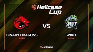 Binary Dragons vs Spirit, map 2 cobblestone, Hellcase Cup 6